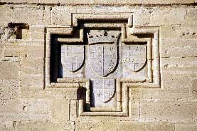 Kolossi Castle: Coats of arms