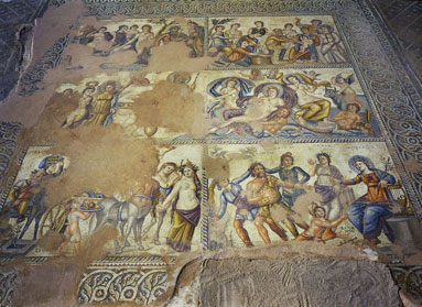 Nea Pafos: Mosaic from the House of Aion
