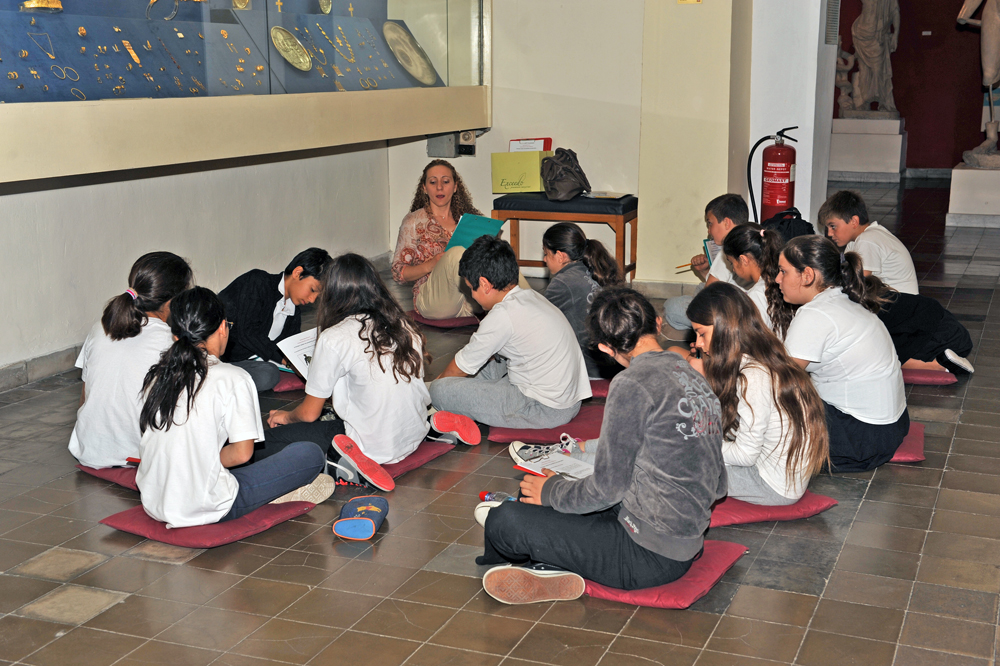 18 May 2011: Educational programme at the Cyprus Museum