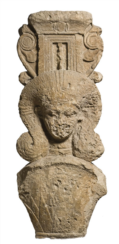 """ANCIENT CYPRUS: Cultures in Dialogue""- Athoric capital, ca. 500 BC"