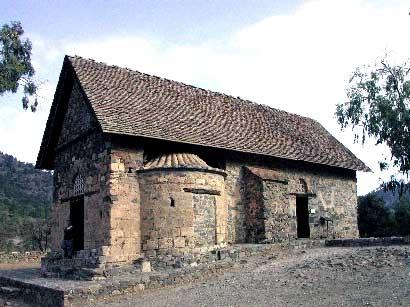 Church of Panagia (Our Lady) tis Asinou, Nikitari