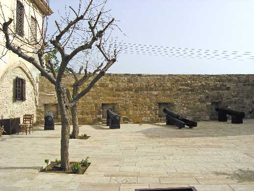 Larnaka Castle: Courtyard