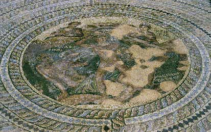 Nea Pafos: Mosaic from the Villa of Theseus