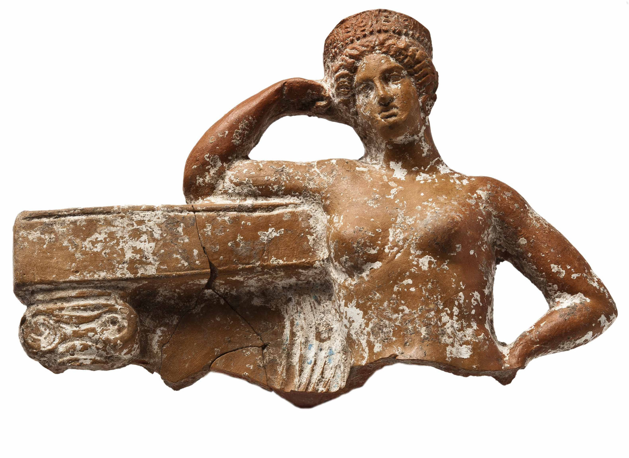Terracotta figurine of Aphrodite, 4th century BC. From Kition-Kathari.