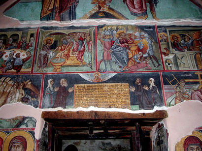 Church of Agios Mamas, Louvaras: Wall paintings