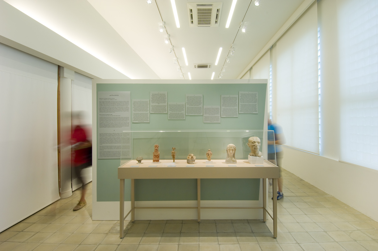 "Exhibition: ""anThrOPOS: Faces of Cyprus through the Ages"", Cyprus Museum. (Photo: Charalambos Artemis)"