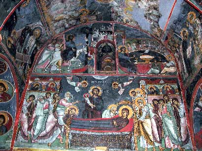 Church of Panagia (Our Lady) tis Asinou, Nikitari: Wall paintings