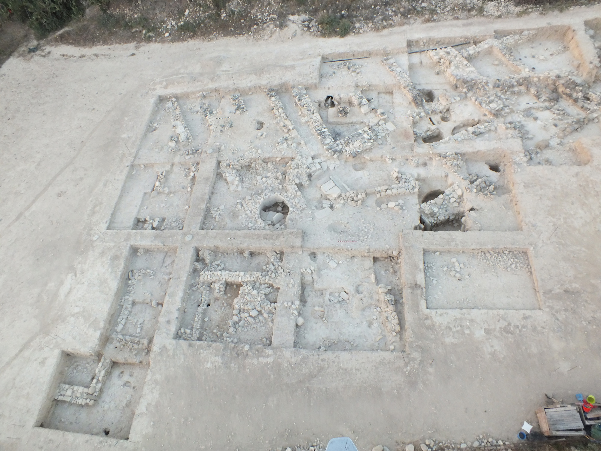 Excavations at ancient Idalion, 2014